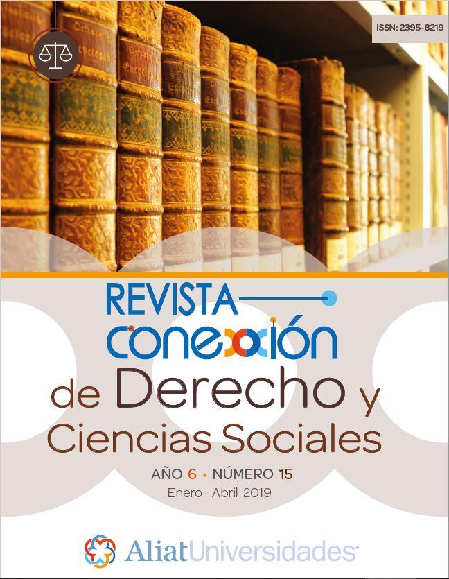 Revista Conexxión de Derecho y Ciencias Sociales Año 6 – Número 15