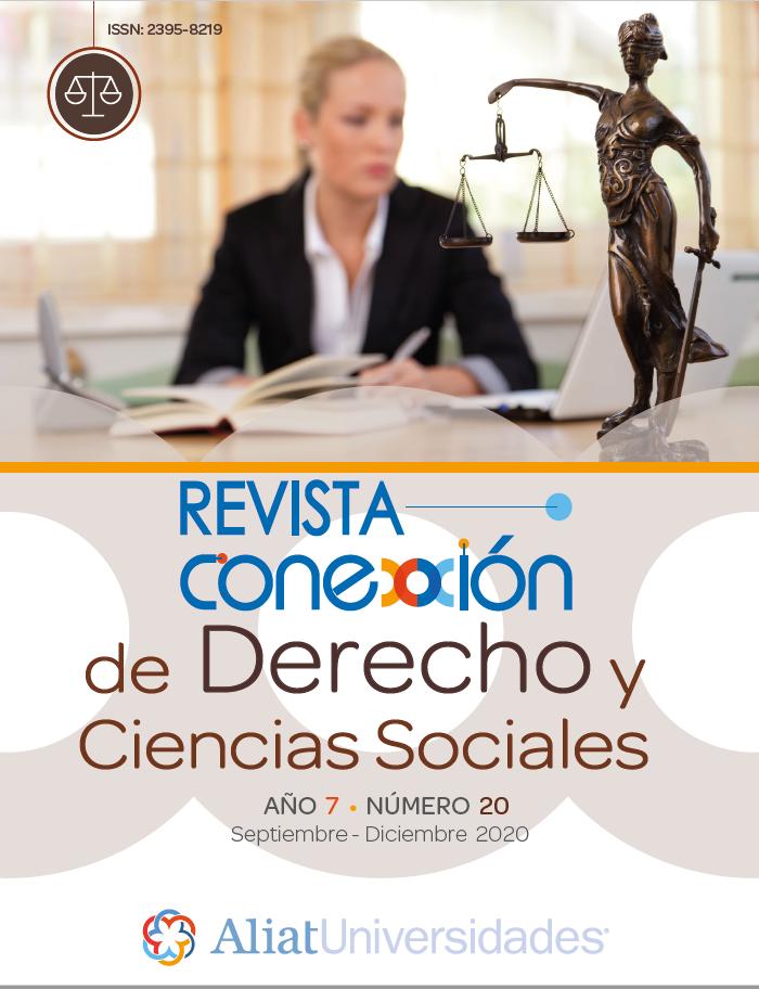 Revista Conexxión de Derecho y Ciencias Sociales Año 7 – Número 20
