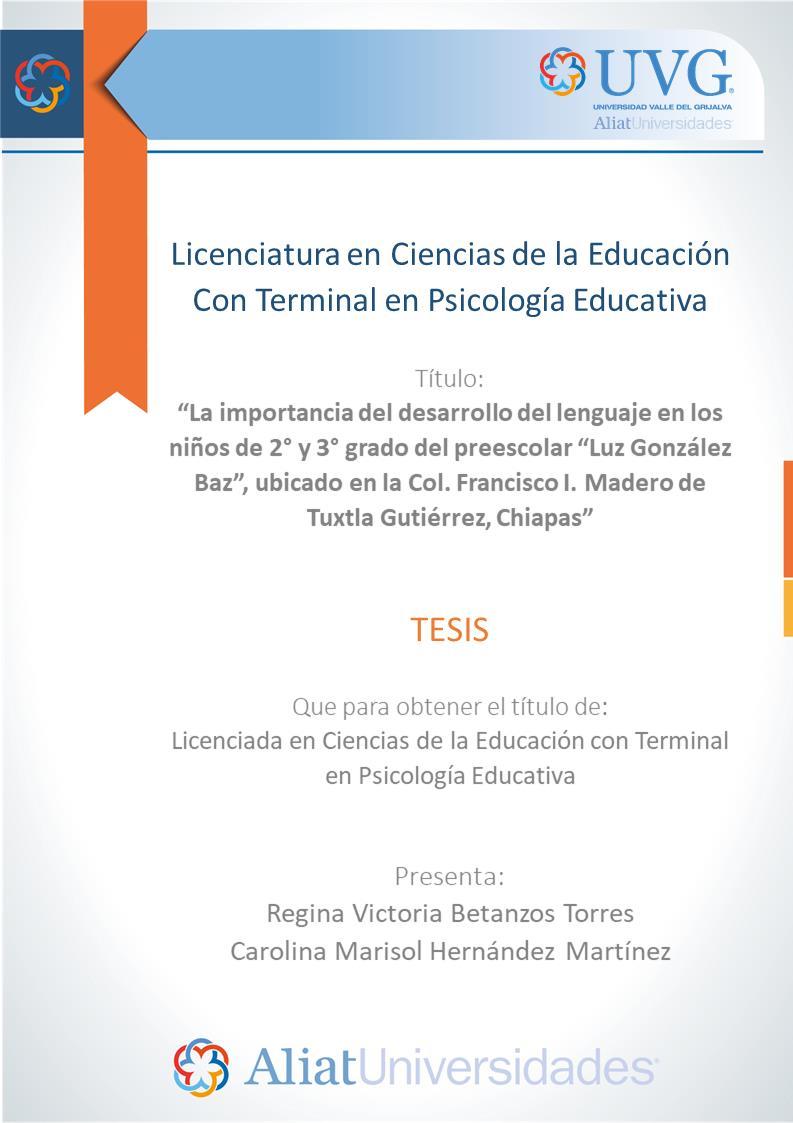 Licenciatura en Ciencias de la Educación Con Terminal en Psicología Educativa